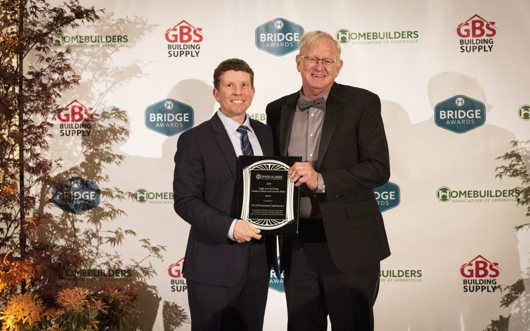 Upstate Remodelers Honored with Bridge Awards Just in Time for National Home Remodeling Month